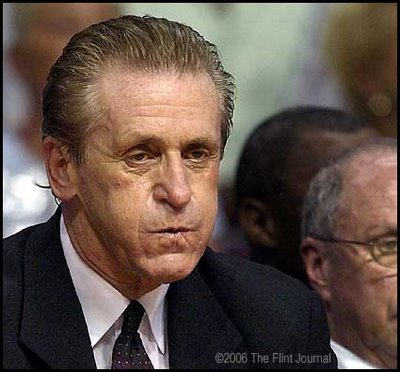Image result for pat riley angry